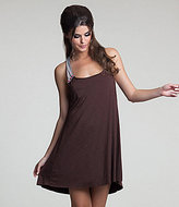Betsey Johnson Bee Line Rosette-Trim Coverup Dress