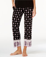 Alfani Border-Print Knit Pajama Pants, Only at Macy's