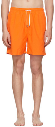 Solid And Striped Solid and Striped Orange Classic Swim Shorts