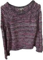 Maje Purple Cotton Knitwear for Women
