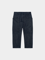 DKNY Pure High Waist Cropped Pant With Front Pockets