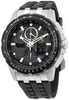 Citizen Skyhawk AT JY805108E Stainless Steel & Silicone Quartz 47mm Mens Watch