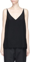 Bassike Silk V-neck camisole