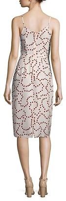 HVN Lily Silk Slip Dress