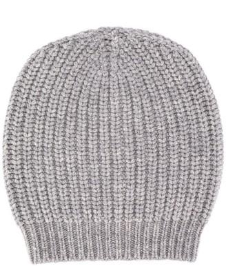 Fabiana Filippi Ribbed Knit Beanie Hat