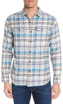 Grayers Men's Linden Trim Fit Plaid Flannel Sport Shirt