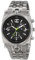 Just Cavalli Men's R7253916025 Ular Quartz Black Dial Watch