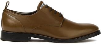 Brunello Cucinelli Metallic-trimmed Leather Brogues