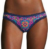Flirtitude Lace-Trim Thong Panties