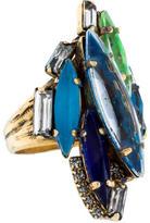 Erickson Beamon Crystal Cocktail Ring
