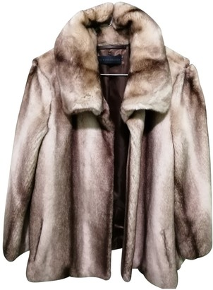 Trussardi Beige Faux fur Coat for Women
