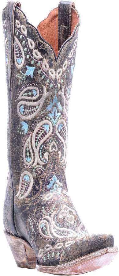 Dan Post Leather Cowboy Boots - Julissa