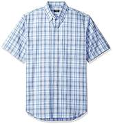 Arrow Men's Big and Tall Short Sleeve Spacedye Shirt