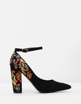 Spurr Illy Block Heel Pumps