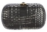 Kara Ross Python Box Clutch