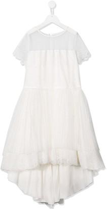 Aletta TEEN tulle skirt bridesmaid dress