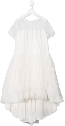 Aletta TEEN tulle skirt bridesmaid dress