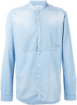Paolo Pecora stonewashed denim shirt - men - Cotton - 39