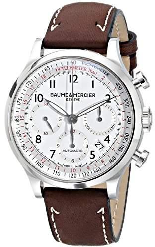 Baume & Mercier Men's 10000 Capeland Chronograph Dial Watch