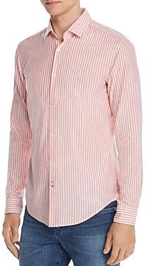 HUGO BOSS Rikki Striped Regular Fit Shirt