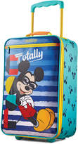 "American Tourister Disney Mickey Mouse 18"" Softside Rolling Suitcase By"