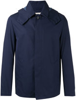 MACKINTOSH button-up hooded jacket - men - Cotton - 40