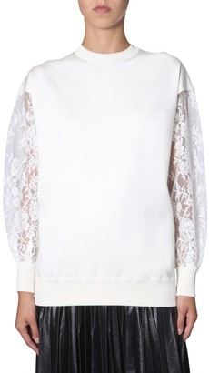 Givenchy Lace Sleeves Jumper