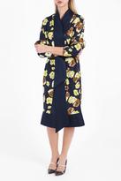 Martin Grant Printed Kimono Dress