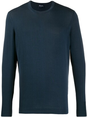 Drumohr Crew-Neck Knit Jumper