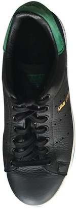 adidas Stan Smith Black Leather Trainers