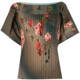 Antonio Marras floral print blouse - women - Polyester/Spandex/Elastane/Acetate/Viscose - 40