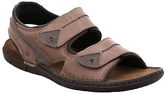 Josef Seibel Paul 04 Leather Sandals, Nut
