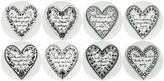 Fornasetti Love Set of 8 Coasters