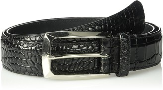 Stacy Adams Men's Ozzie Croc Embossed Belt