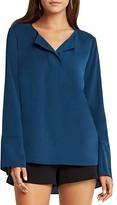 BCBGeneration Split Collar Henley Shirt