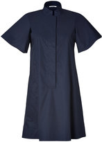 Jil Sander Navy Cotton Shirtdress