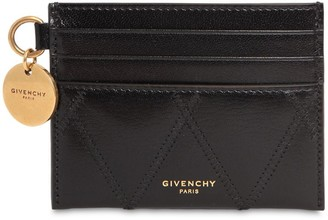 Givenchy Quilted Leather Card Holder