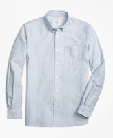 Brooks Brothers Multi-Stripe Oxford Sport Shirt