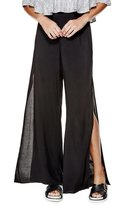 GUESS Women's Jen High-Rise Side-Slit Palazzo Pants