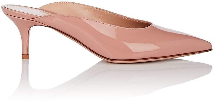 Gianvito Rossi Women's Paige Patent Leather Mules