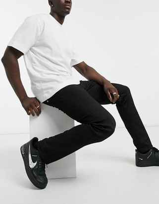 Replay Grover skinny fit jeans in black
