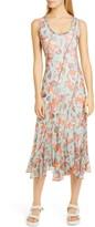 Fuzzi Seashell Print Tank Midi Dress