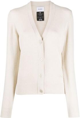 Barrie V-neck cashmere cardigan