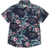 Sovereign Code Boy's Kline Hawaiian-Print Shirt
