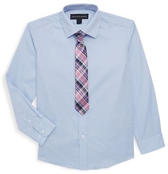 Saks Fifth Avenue Little Boy's Boy's Two Piece Sport Shirt Tie Set