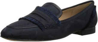 The Fix Amazon Brand Women's Daphne Satin Fringe Loafer Flat