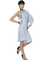 Givenchy Ruffled Stretch Viscose Cady Dress