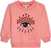 Kenzo Eye motif cotton jumper 3-36 months