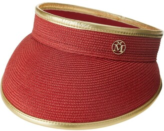 Maison Michel Chinese New Year ribbed sun hat