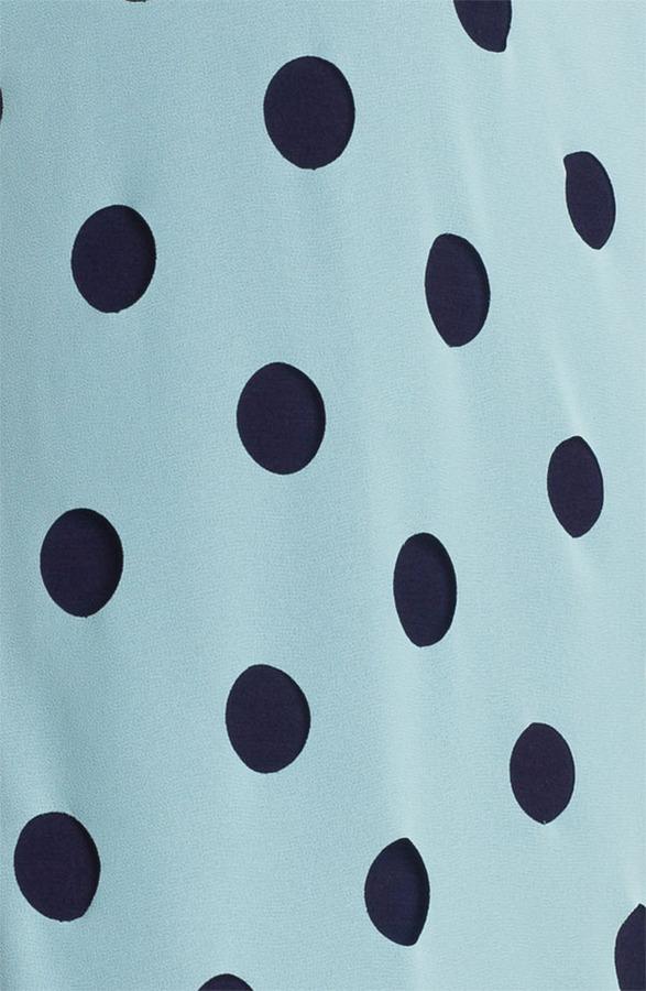 Olive & Oak Dot Front Blouse (Online Only)